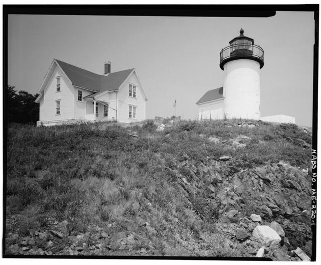 Curtis Island Light Station, Curtis Island, at entrance to Camden Harbor, Camden, Knox County, ME