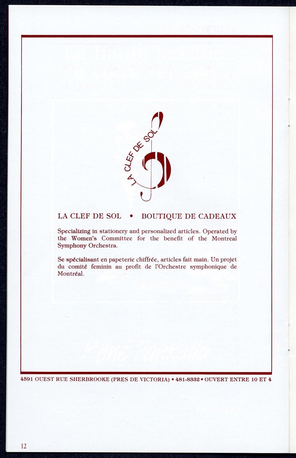 D anny Kaye OSM [Danny Kaye and the Orchestre Symphonique de Montréal, June 8, 1984]