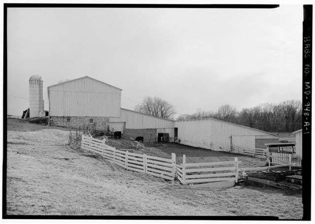 D. R. Miller Farm, Barn, Hagerstown Pike, Sharpsburg, Washington County, MD