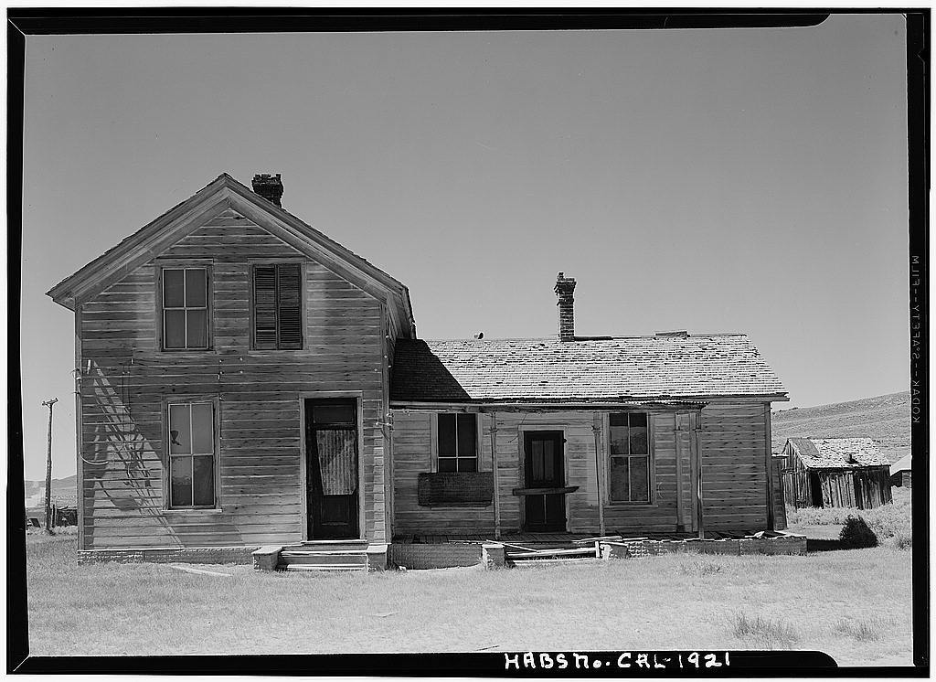 D. V. Cain House, Green & Fuller Streets, Bodie, Mono County, CA