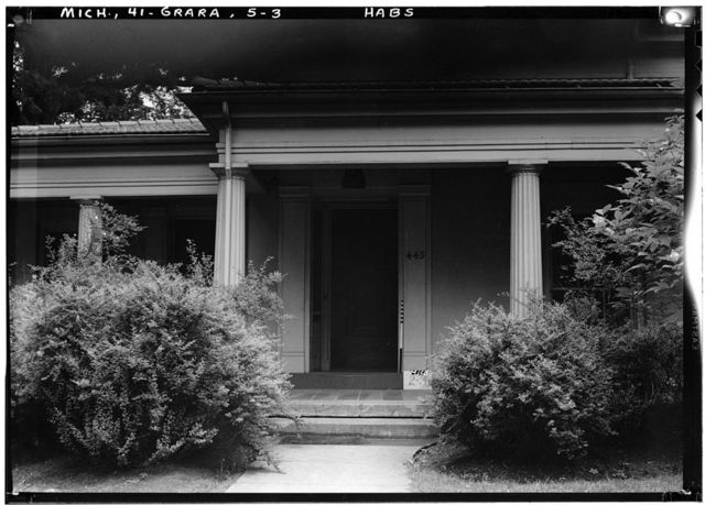 Damon Hatch House, 445 Cherry Street Southeast, Grand Rapids, Kent County, MI