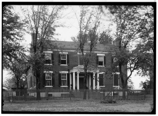Daniel D. Griffith House, U.S. Route 40, Saint Charles, St. Charles County, MO