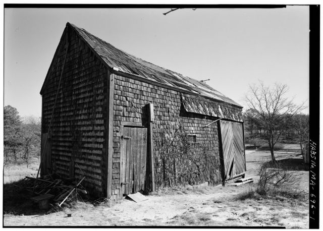 Daniel P. Higgins Barn, Higgins Hollow Road, Truro, Barnstable County, MA