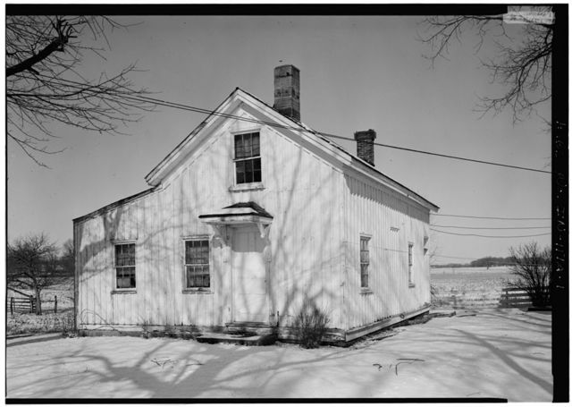 Daniels House, Outbuilding, State Route 1, Milton, Wayne County, IN