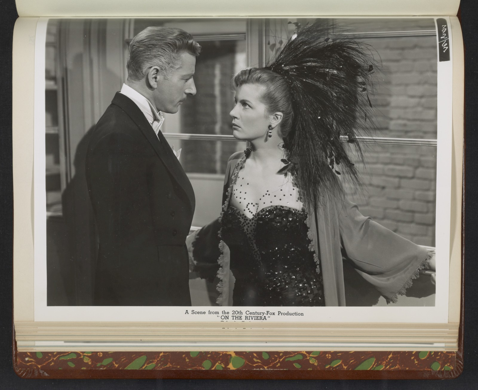 """[ Danny Kaye and Corinne Calvet - scene from """"On the Riviera""""]"""