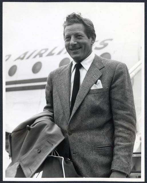 [ Danny Kaye arriving at London Airport 1]