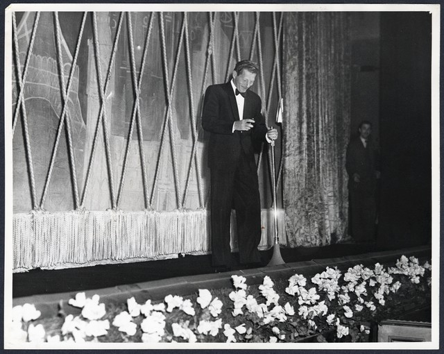 Danny Kaye on the Stage