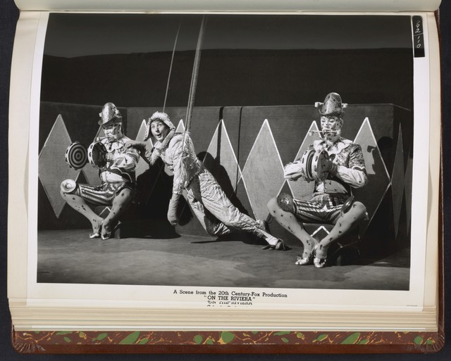 "[ Danny Kaye performing as a puppet - scene from ""On the Riviera""]"
