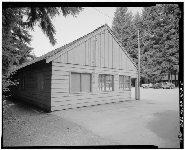 Darrington Ranger Station, Building 2315, 1405 Emmens Street, Darrington, Snohomish County, WA