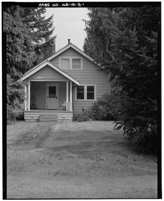 Darrington Ranger Station, Building No. 1229, 1405 Emmens Street, Darrington, Snohomish County, WA