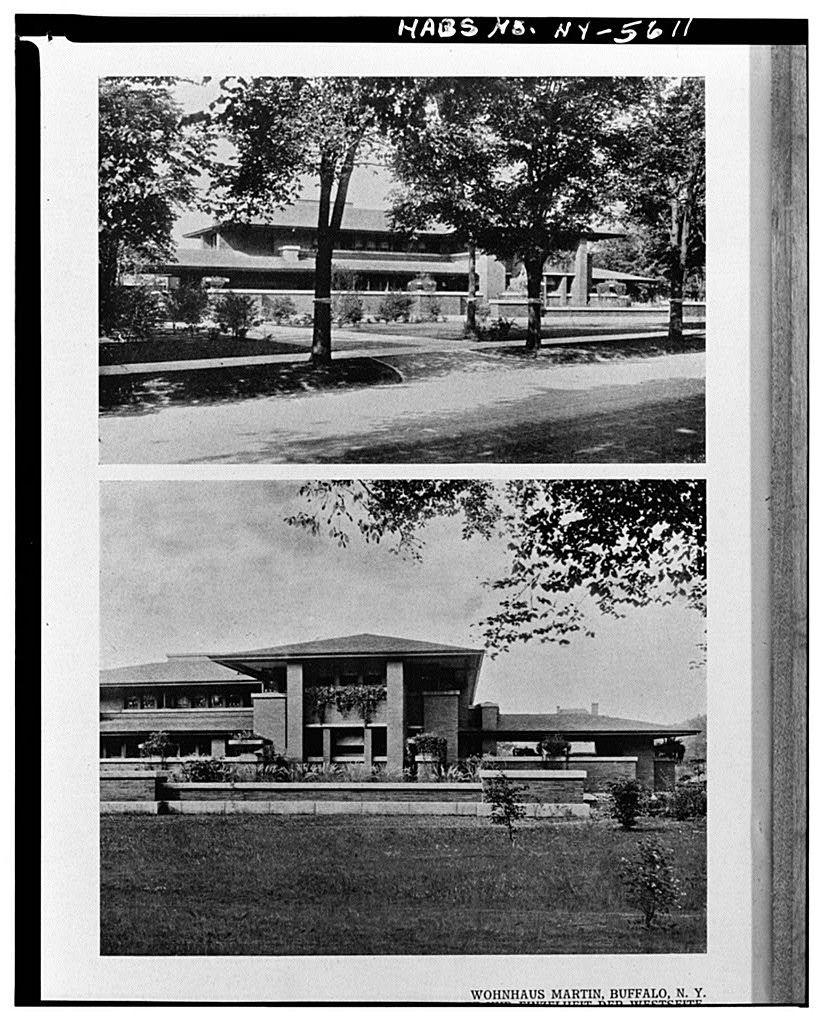 Darwin D. Martin House, 125 Jewett Parkway, Buffalo, Erie County, NY