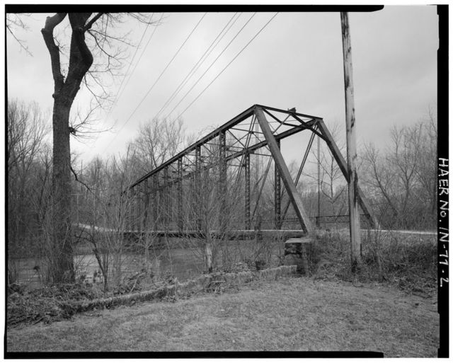David H. Remley Road Bridge, Spanning Sugar Creek at County Road 225 West, Crawfordsville, Montgomery County, IN