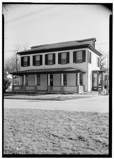 David Hunter Strother House, Berkeley Springs, Morgan County, WV