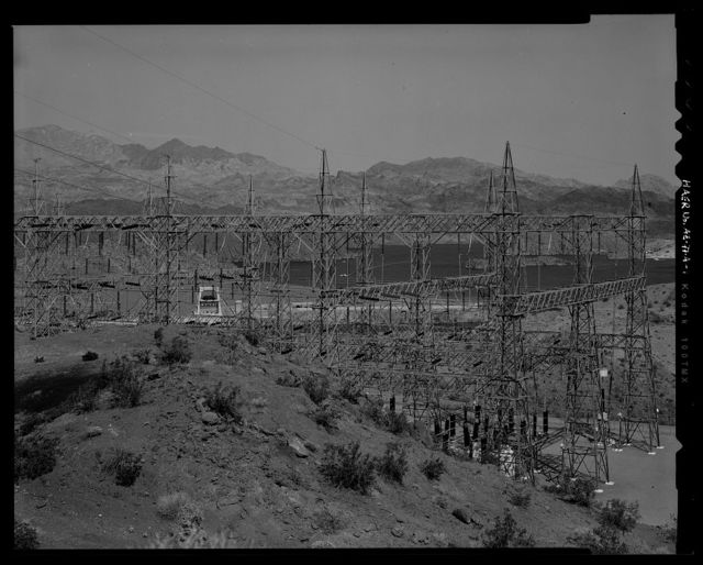 Davis Dam, Switchyards, Southeast of Davis Dam, Kingman, Mohave County, AZ