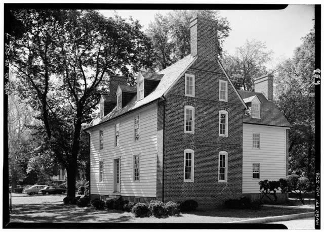 Davis House, King George Street (moved from Main & Conduit Streets), Annapolis, Anne Arundel County, MD
