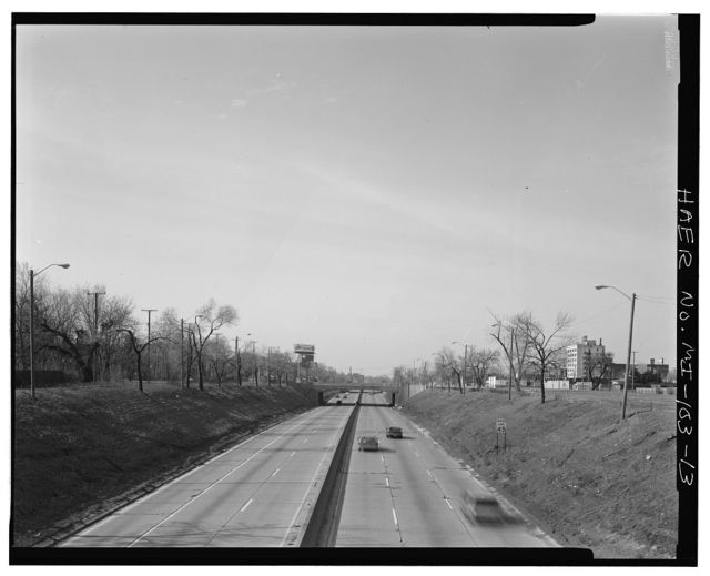 Davison Freeway from M-10 to Oakland Avenue, M-10 to Highland Park, Highland Park, Wayne County, MI