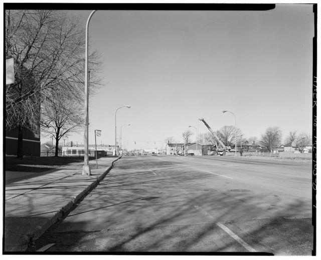 Davison Freeway, Hamilton Avenue Bridge, Highland Park, Wayne County, MI