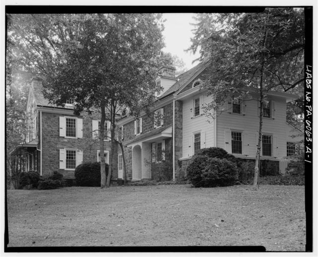 Dawesfield, House, 585 Lewis Lane, Blue Bell, Montgomery County, PA