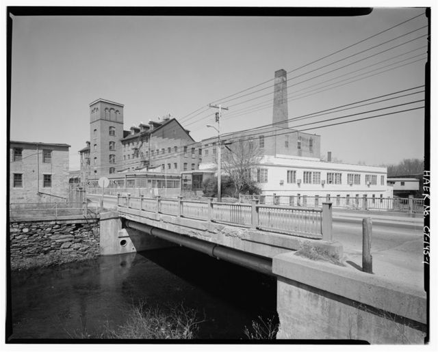 Dayville Mills Hydroelectric Facility, North side of Route 101,  .5 mile west of Route 395, Killingly Center, Windham County, CT