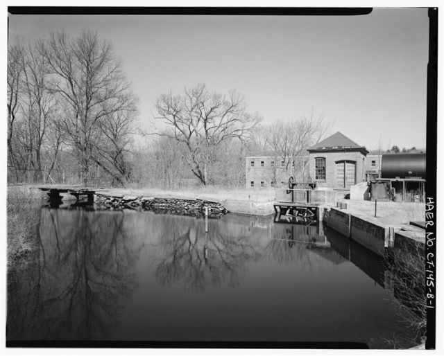 Dayville Mills Hydroelectric Facility, Powerhouse, North side of Route 101, .5 mile west of Route 395, Killingly Center, Windham County, CT