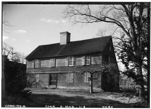 Deacon John Graves House, Madison, New Haven County, CT