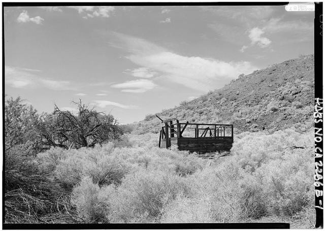 Death Valley Lower Grapevine Ranch, Changing House, Death Valley Junction, Inyo County, CA