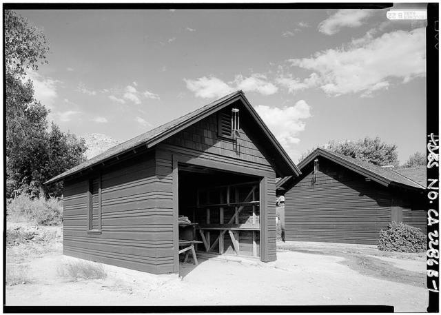 Death Valley Lower Grapevine Ranch, Garage, Death Valley Junction, Inyo County, CA