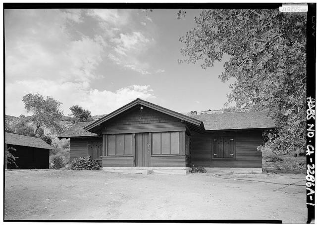 Death Valley Lower Grapevine Ranch, House, Death Valley Junction, Inyo County, CA