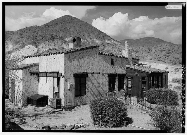 Death Valley Ranch, Cookhouse, Death Valley Junction, Inyo County, CA