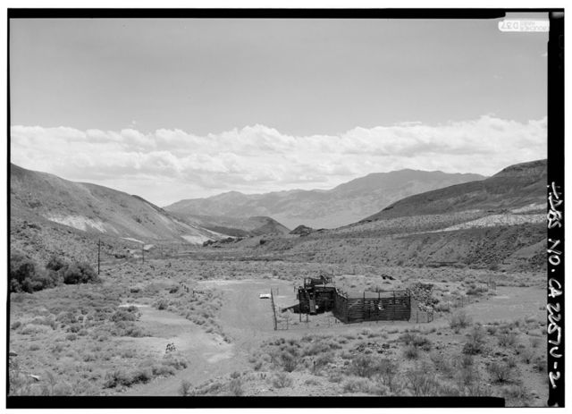 Death Valley Ranch, Gravel Plant-Bunker, Death Valley Junction, Inyo County, CA