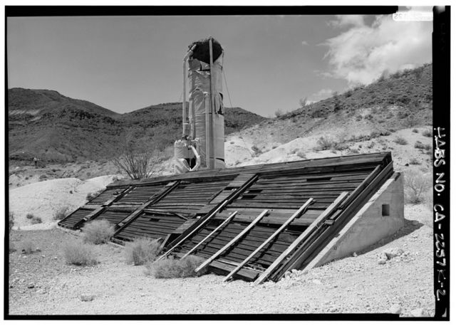 Death Valley Ranch, Solar Heater, Death Valley Junction, Inyo County, CA