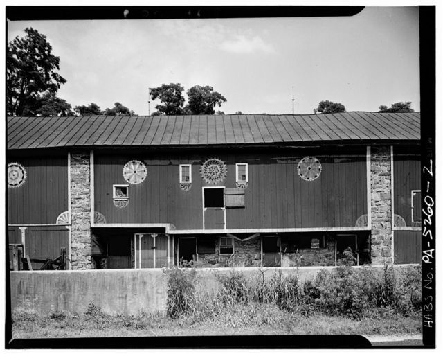 Decorated Barn, State Route 73 (Oley Township), Oley, Berks County, PA