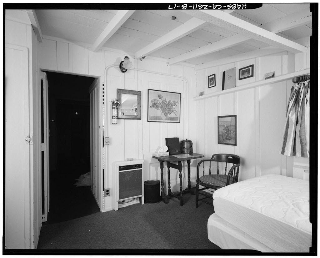 Deetjen's Big Sur Inn, Hayloft Building, East Side of State Highway 1, Big Sur, Monterey County, CA
