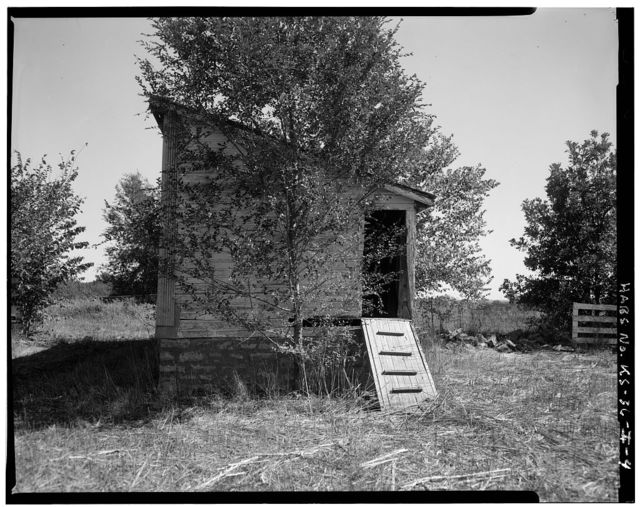 Deister Farmstead, New Chickenhouse, Route 442, Stull, Douglas County, KS