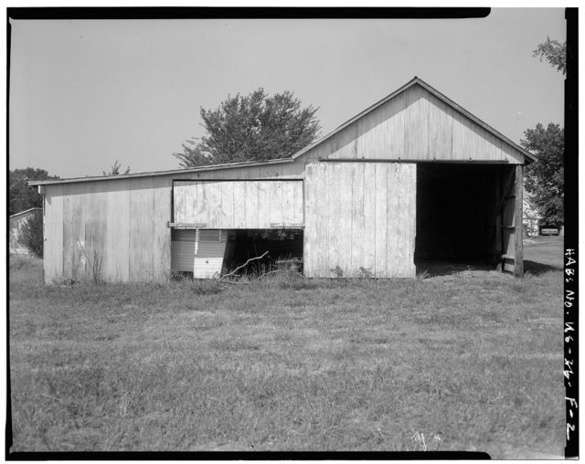 Deister Farmstead, Pole Barn, Route 442, Stull, Douglas County, KS