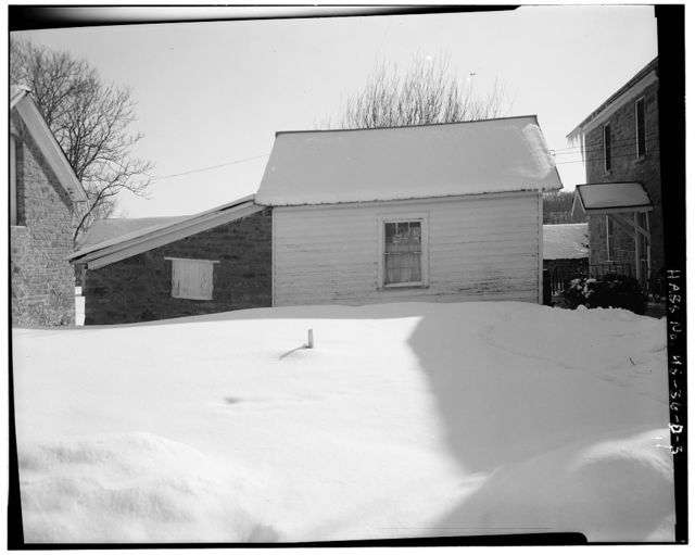 Deister Farmstead, Wash-Utility Shed, Route 442, Stull, Douglas County, KS