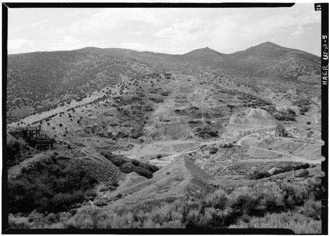 DeLamar Mercur Mines Company, Golden Gate Mill, Ophir, Tooele County, UT