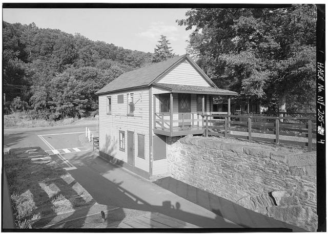 Delaware & Hudson Canal, Delaware Aqueduct Toll House, Minisink Ford, Sullivan County, NY