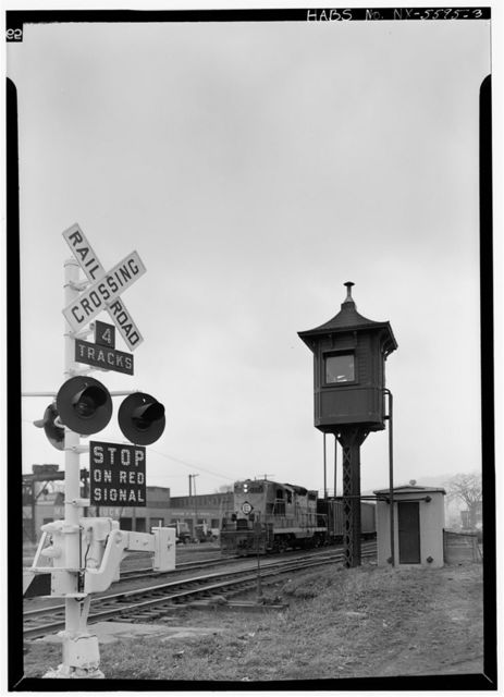 Delaware, Lackawana & Western Railroad, Crossing Guard House, Central Avenue at Pendleton Street, Cortland, Cortland County, NY