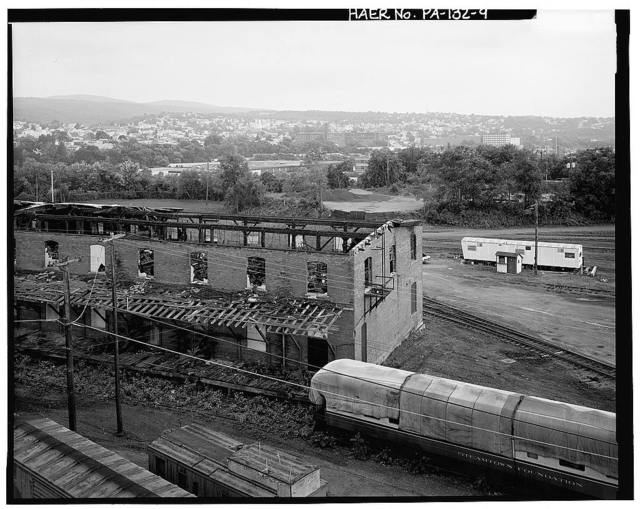 Delaware, Lackawanna & Western Railroad, Scranton Yards, Lackawanna Avenue, Cedar Avenue, River Street & Seventh Avenue, Scranton, Lackawanna County, PA