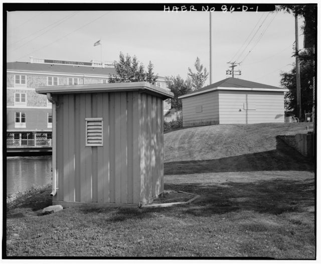 DePere Lock & Dam, Storage Building, Approximately 50 feet Northwest of Lock Shelter, De Pere, Brown County, WI