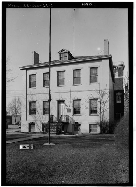 Detroit Arsenal, Officers' Quarters, 21950 Michigan Avenue, Dearborn, Wayne County, MI