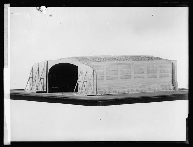 Dirigible hangar, 4/1/20