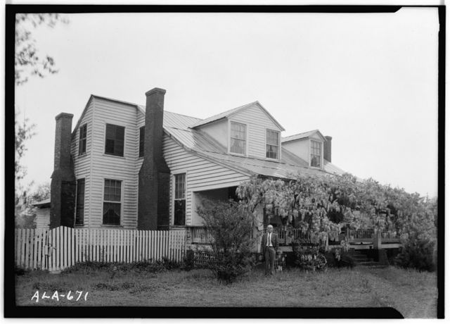 Dixon H. Lewis House, State Highway 97 (County Road 29), Lowndesboro, Lowndes County, AL