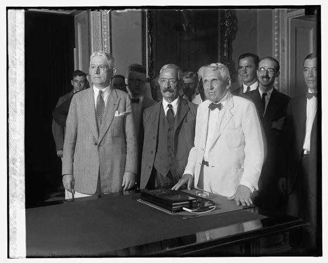 D.J. Callaghan, J.A. Flaherty, Secty. Kellogg, 8/13/26