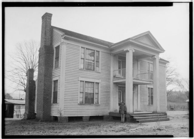 Doctor Glover House, Weaver Road, Weaver, Calhoun County, AL