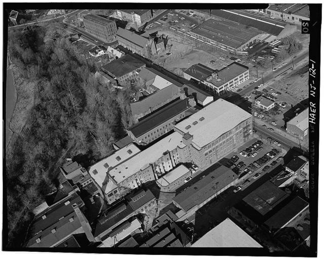 Dolphin Manufacturing Company, Spruce & Barbour Streets, Paterson, Passaic County, NJ