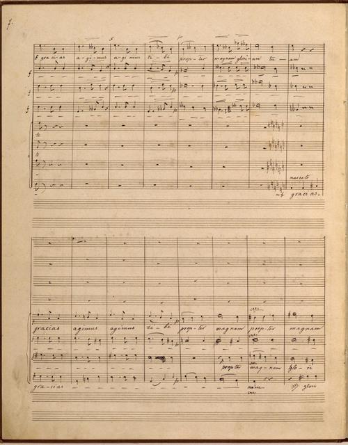 Dorf-Messe, für Männerchor (Messe villageoise), Kyrie, Gloria, Laudamus te, Credo, Incarnatus, Sanctus, Agnus dei