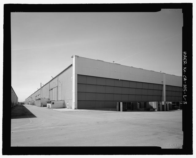 Douglas Aircraft Company Long Beach Plant, Aircraft Wing & Fuselage Assembly Building, 3855 Lakewood Boulevard, Long Beach, Los Angeles County, CA