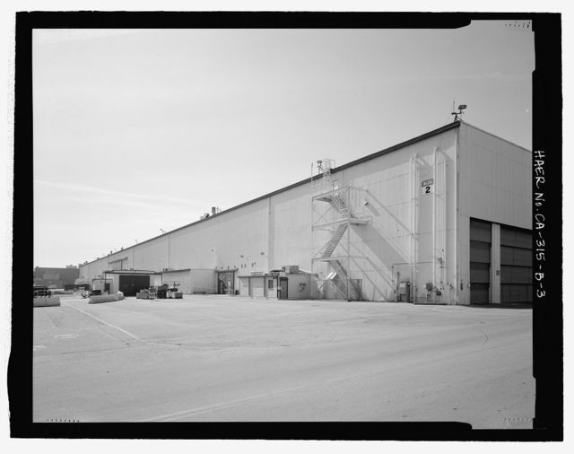 Douglas Aircraft Company Long Beach Plant, Final Aircraft Assembly Building, 3855 Lakewood Boulevard, Long Beach, Los Angeles County, CA